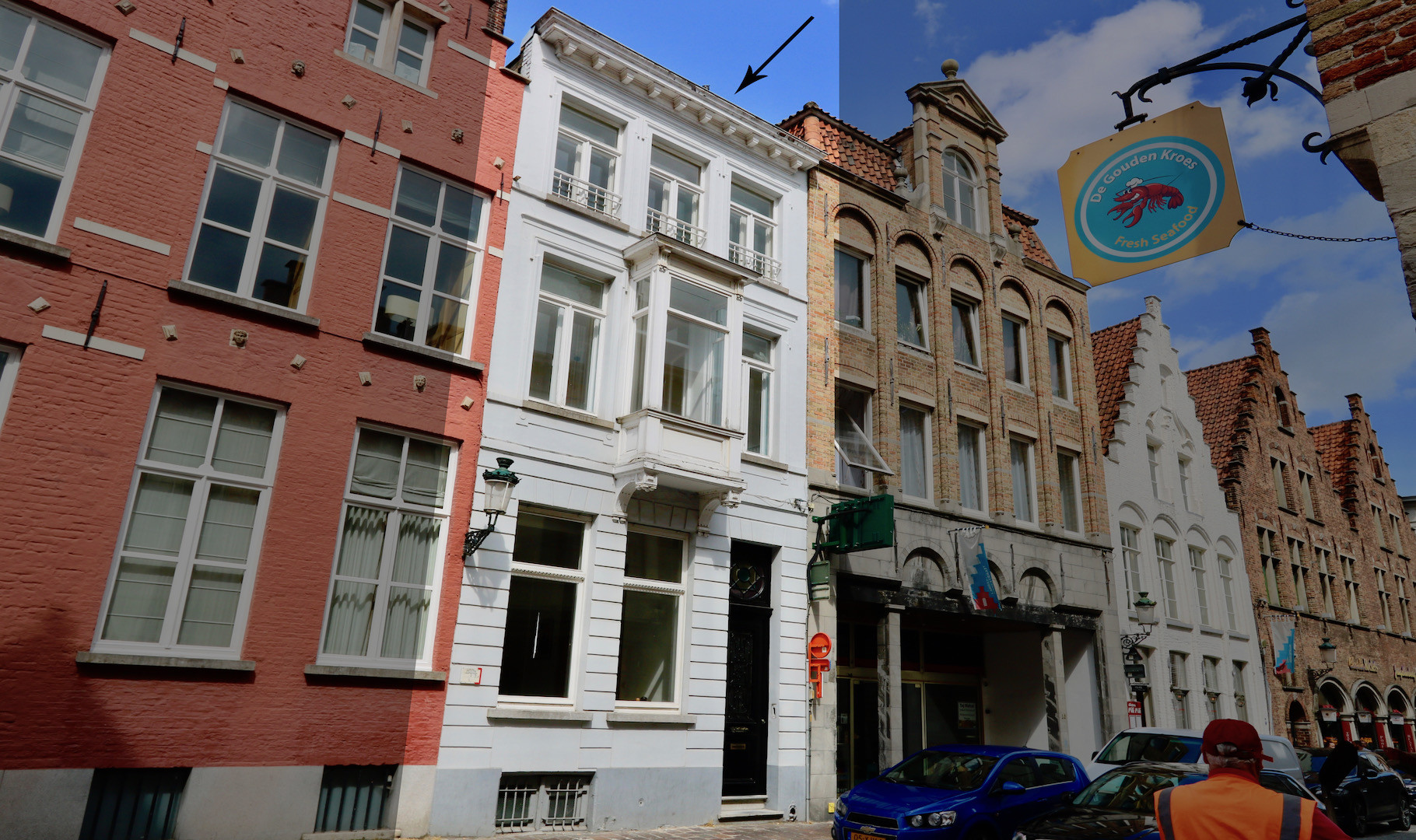 stijlvol en supercharmant herenhuis met stadstuin in het hart van het Brugse ei, vlakbij Markt en Burg