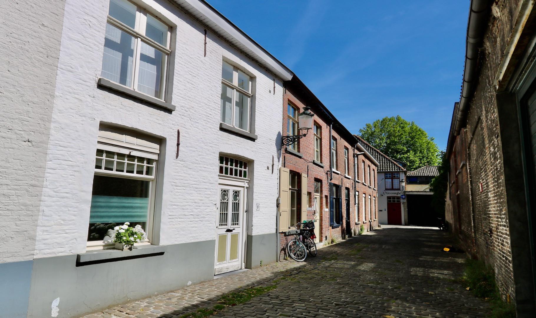 supercharmant Brugs huis met leuke buitenpatio, schilderachtig gelegen op Sint-Anna
