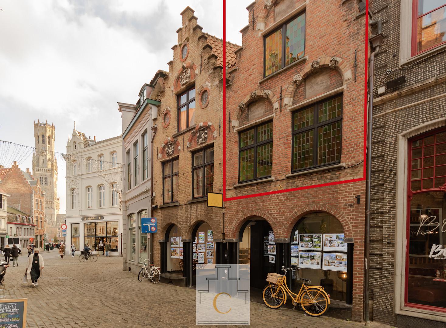 Triplex appartement met terras op een prachtige ligging in hartje Brugge