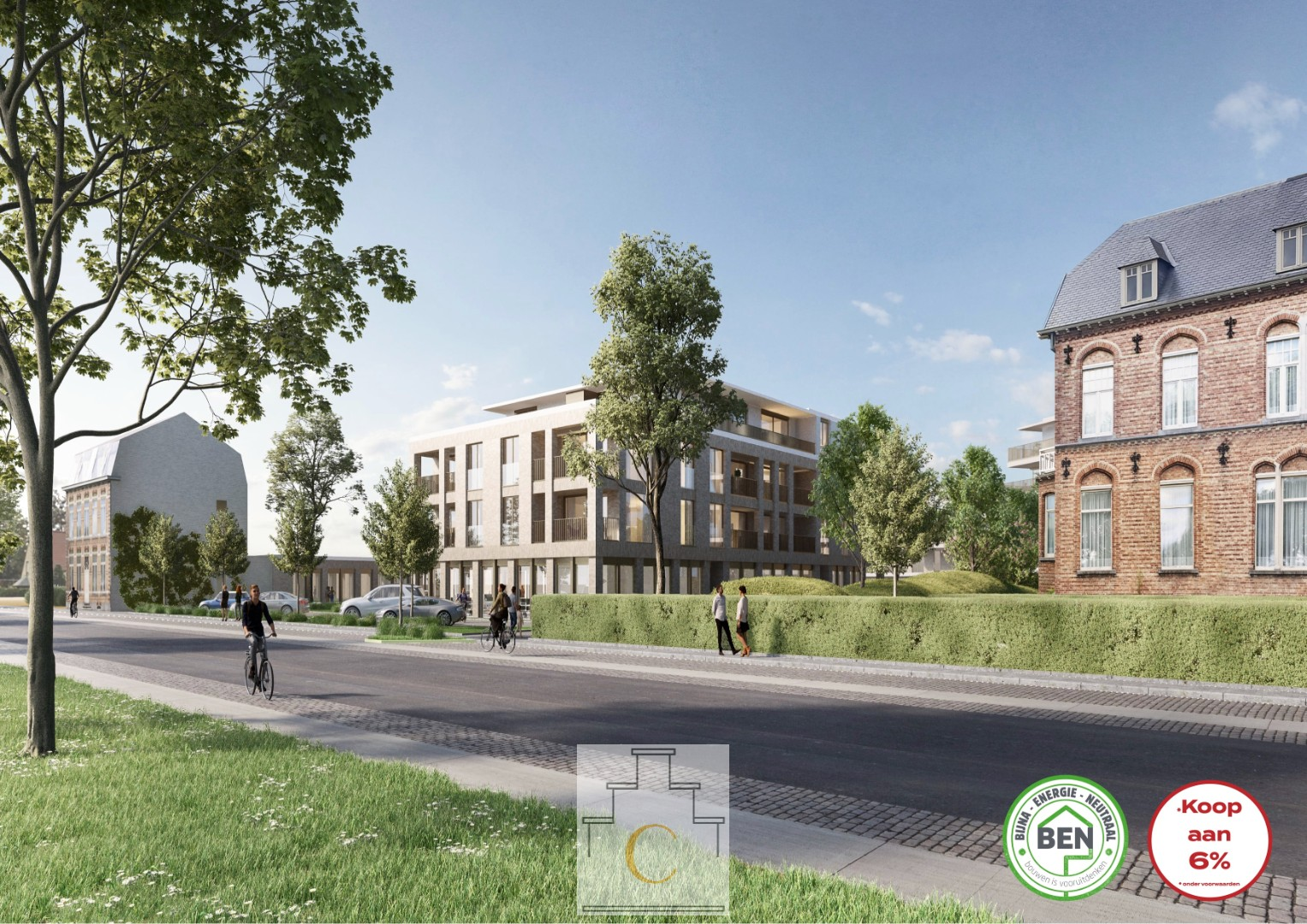 Nieuwbouwproject Domein Heydelberg Fase 1