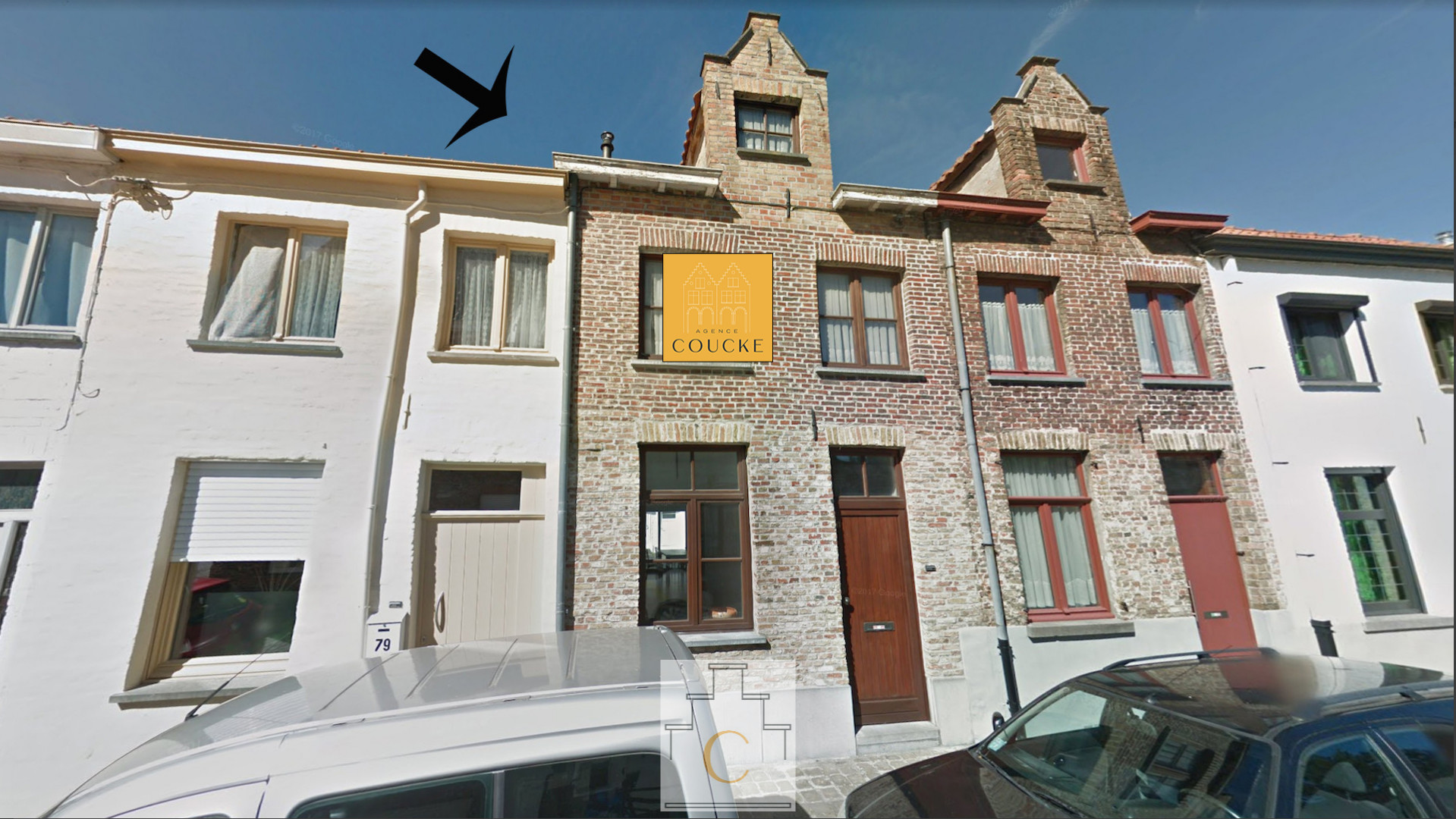 Leuk huis met terras hartje Brugge - 2 slpk