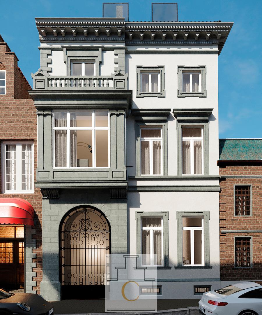 Koetshuys Sinave, project te Brugge - appartement op de eerste verdieping